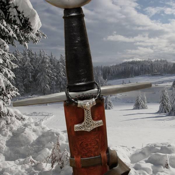 Bilde av Torshammer Dyrehode - Sølv