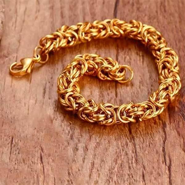 Bilde av Kongelenke Armlenke - Gullfarget