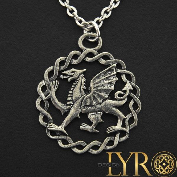 Bilde av Dragon of Wales - Tinn